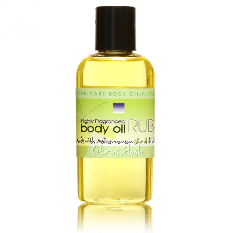 body oil RUB 2oz<br>Citrus Splash