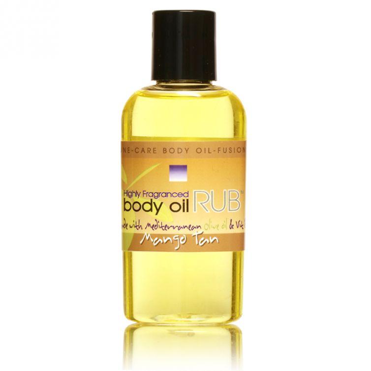 body oil RUB 2oz<br>Mango Tan