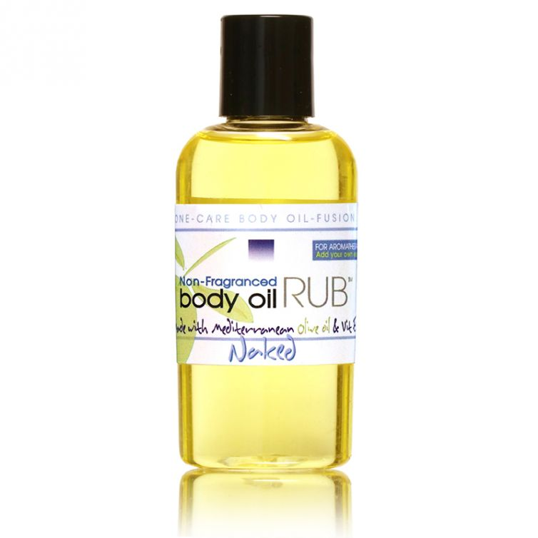 body oil RUB 2oz<br>Naked (Unscented)