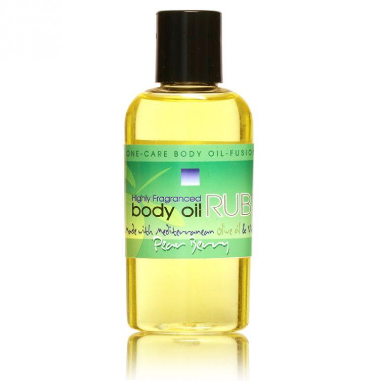 body oil RUB 2oz<br>Pear Berry