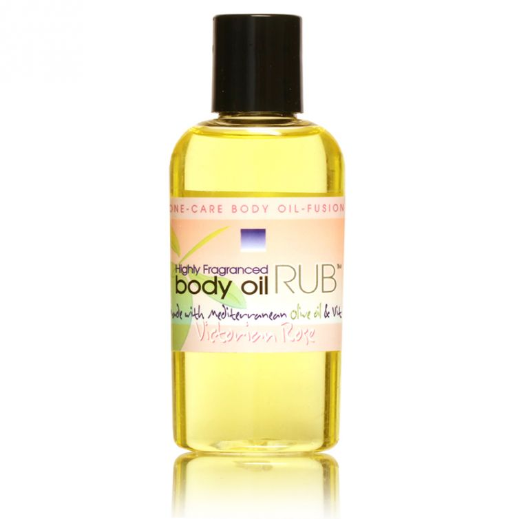 body oil RUB 2oz<br>Victorian Rose