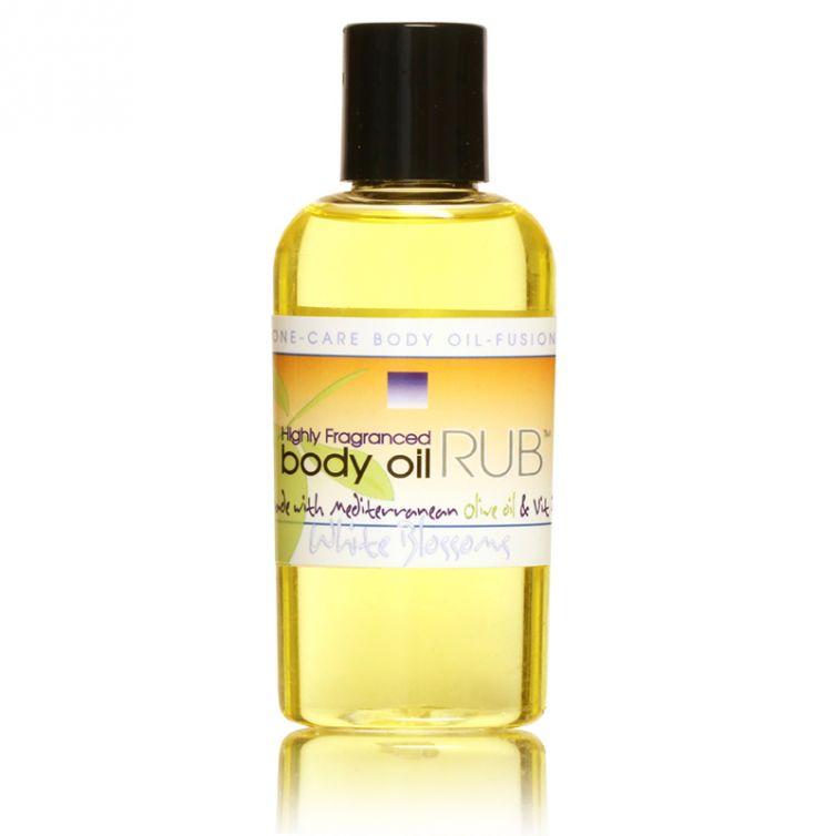 body oil RUB 2oz<br>White Blossom