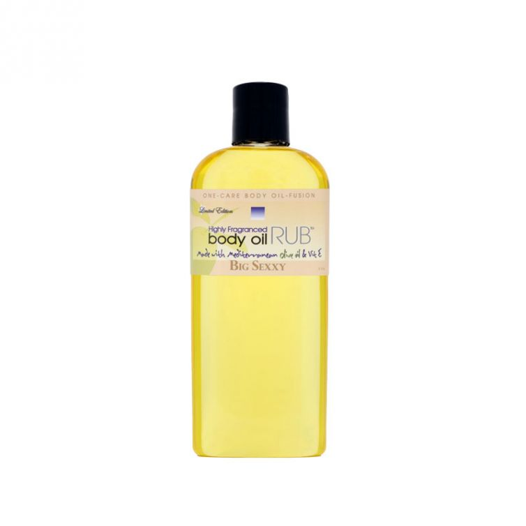 body oil RUB 8oz<br>Big Sexxy