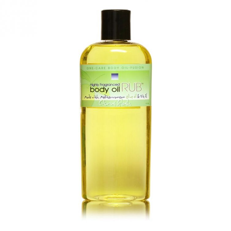 body oil RUB 8oz<br>Citrus Splash