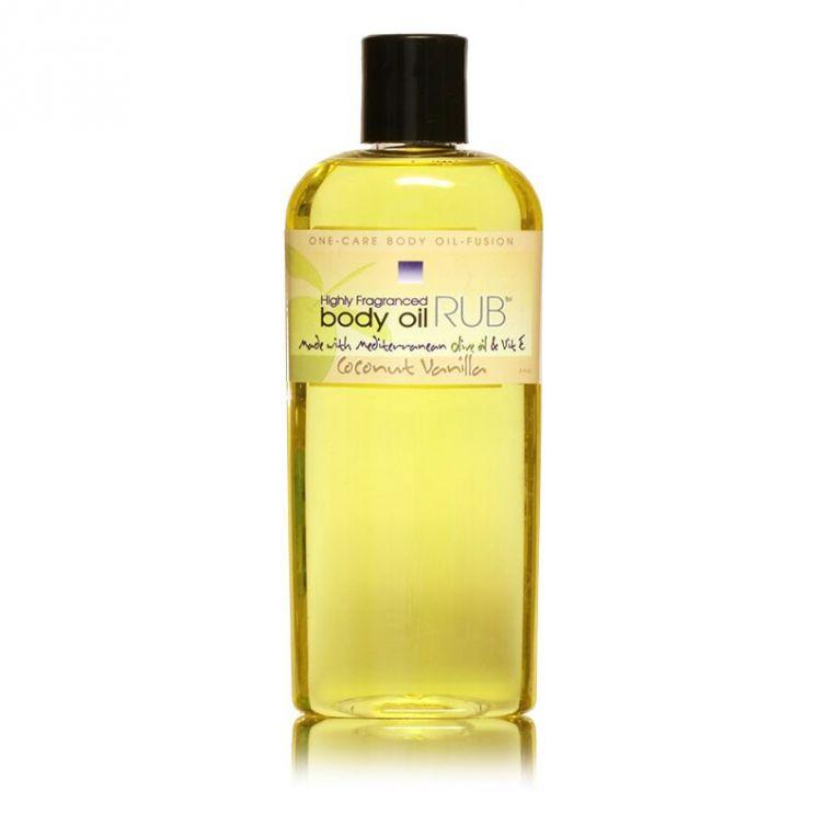body oil RUB 8oz<br>Coconut Vanilla