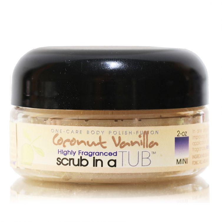 scrub in a TUB 3oz <br> Coconut Vanilla