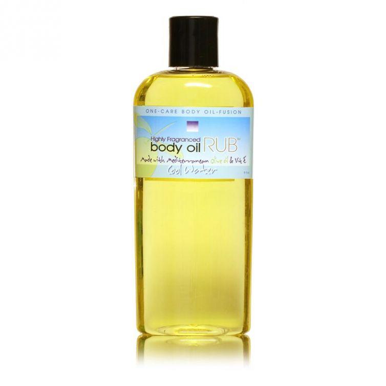 body oil RUB 8oz<br>Cool Water