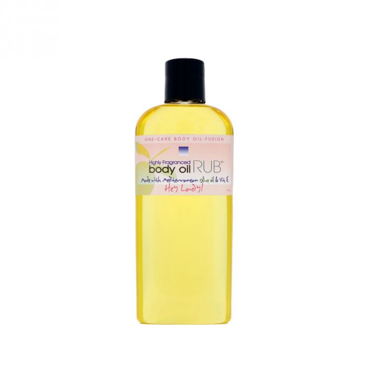 body oil RUB 8oz<br>Hey Lady