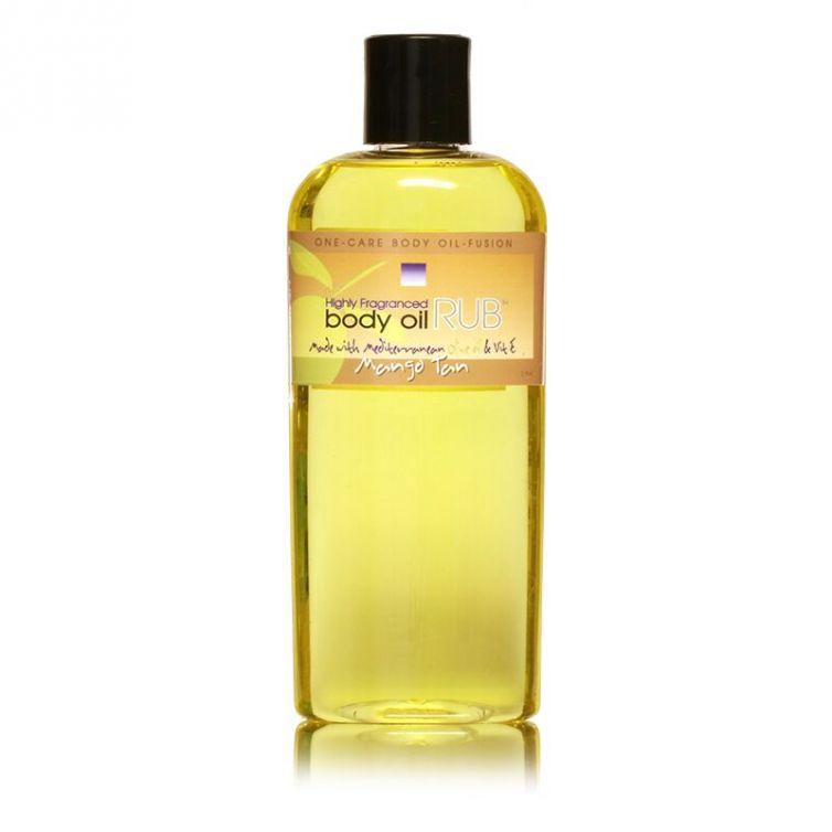 body oil RUB 8oz<br>Mango Tan