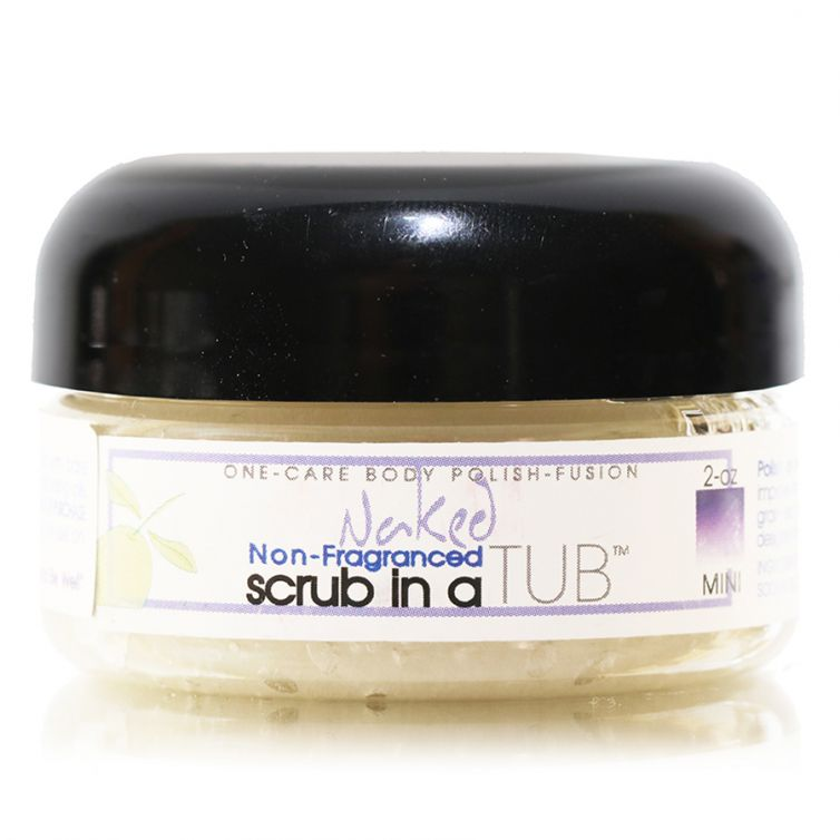 scrub in a TUB 3oz <br> Naked (Unscented)