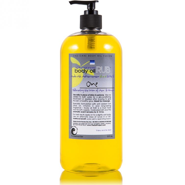 body oil RUB 32oz<br>One