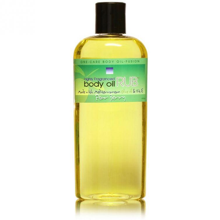 body oil RUB 8oz<br>Pear Berry