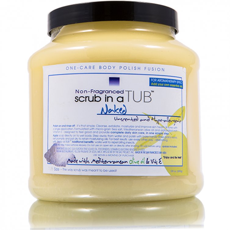 scrub in a TUB 109oz<br>Naked (Unscented)