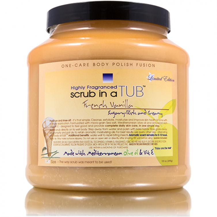 scrub in a TUB 109oz<br>French Vanilla