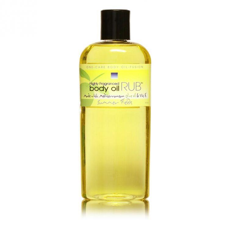 body oil RUB 8oz<br>Summer Fields