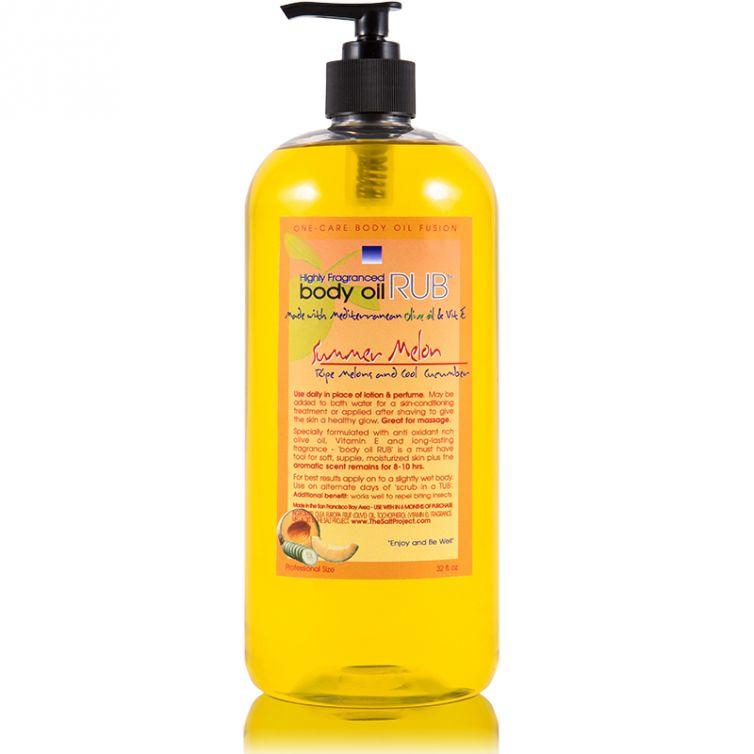 body oil RUB 32oz<br>Summer Melon