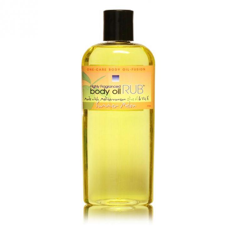 body oil RUB 8oz<br>Summer Melon