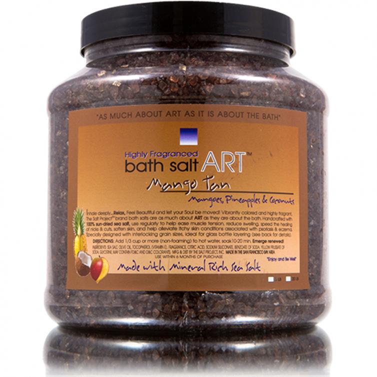 bath salt ART 5LB<br>Mango Tan