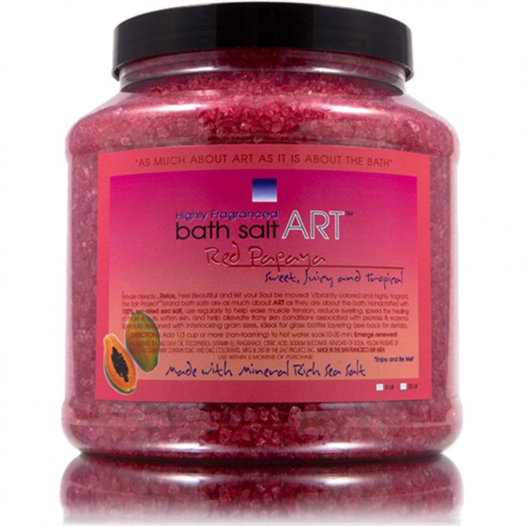 bath salt ART 5LB<br>Red Papaya