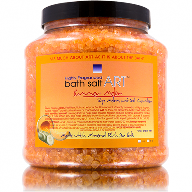 bath salt ART 5LB<br>Summer Melon