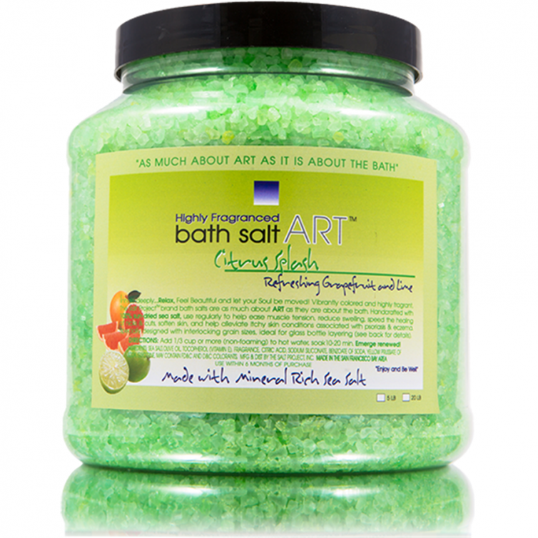 bath salt ART 5LB<br>Citrus Splash