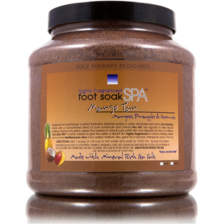 foot soak SPA 5LB<br>Mango Tan