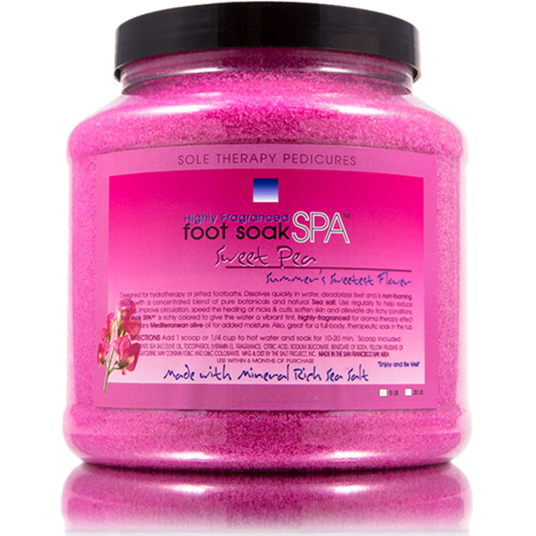 foot soak SPA 5LB<br>Sweet Pea